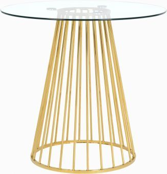 Gio Counter Height Table, Gold