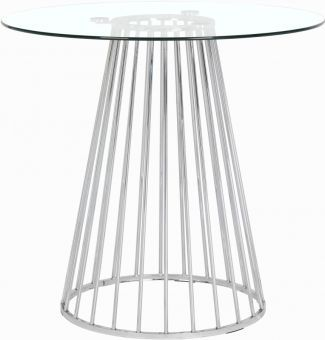 Gio Counter Height Table, Chrome