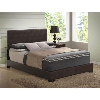 8103 Brown Gloss King Bed
