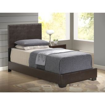8103 Brown Gloss Twin Bed