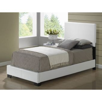 8103 WHITE GLOSS TWIN BED