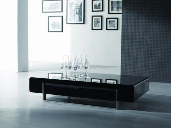 Modern Coffee Table 902A in Dark Oak