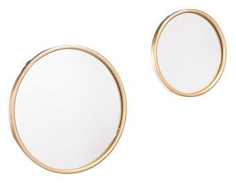Ogee Mirror Sm Gold