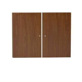 100 Series Walnut Doors for Bookcases