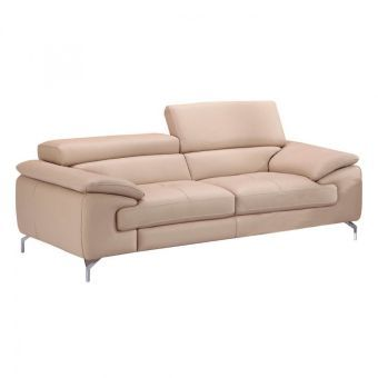 ✅ A973 Italian Leather Sofa in Peanut | VivaSalotti.com | pic1