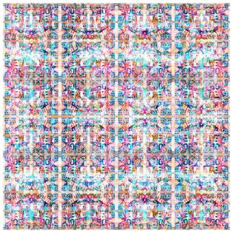 ALL OVER NEW YORK - Limited Edition of 1 Artwork by Scott Gieske