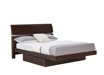 Aurora Wenge Queen Bed
