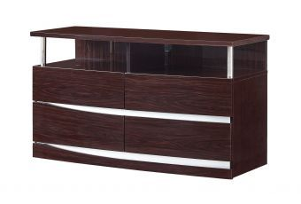 ✅ Aurora Wenge Entertainment Unit | VivaSalotti.com | pic1