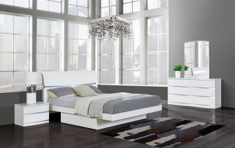 Aurora Modern Bedroom Set White
