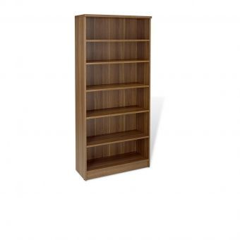 100 Series Walnut Tall Bookcase