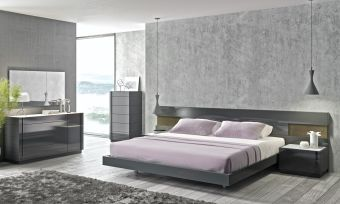 Braga King Size Bed