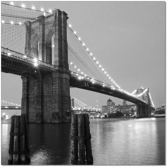 ✅ Wall Art Brooklyn Bridge II | VivaSalotti.com | pic1