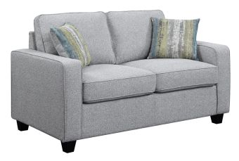Scott Living Brownswood Transitional Ash Loveseat