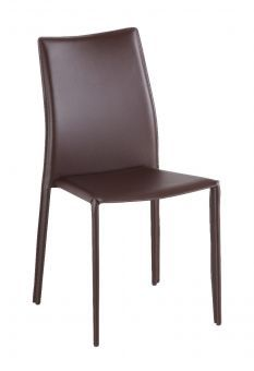 ✅ C031B J&M Brown Dining Chairs | VivaSalotti.com | pic4