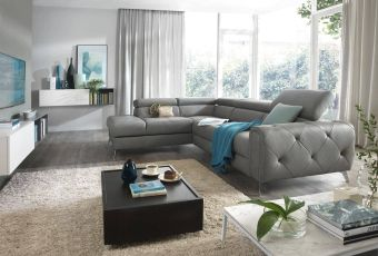 ✅ Camelia Right Contemporary Sectional by ESF | VivaSalotti.com | pic