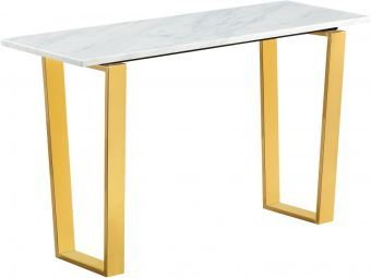 Cameron Console Table, Gold