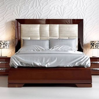 ✅ Carmen Platform Bed Walnut King Bed | VivaSalotti.com | pic4