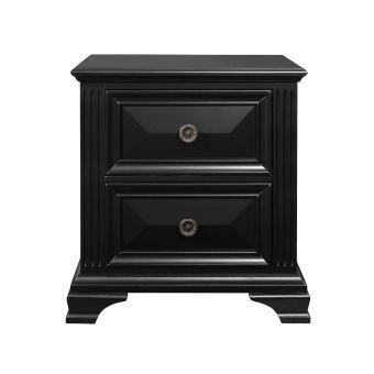 Carter Black Nightstand