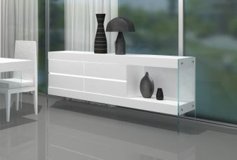 ✅ Cloud Buffet in White High Gloss | VivaSalotti.com | pic