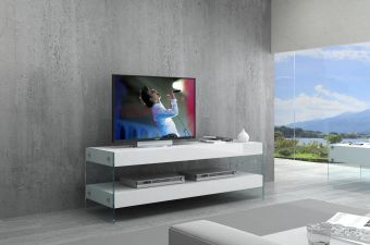 ✅ Cloud Mini TV Base White High Gloss | VivaSalotti.com | pic2