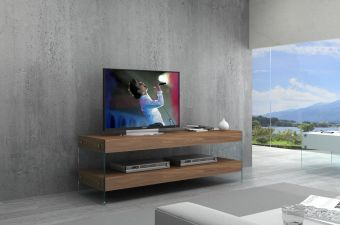 ✅ Elm Mini TV Base White High Gloss | VivaSalotti.com | pic2