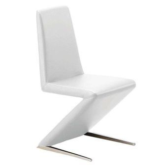 Cologne Dining Chair in White