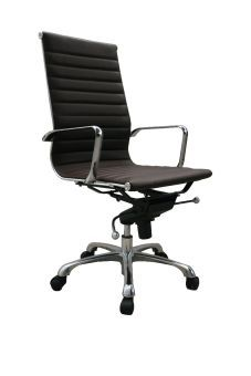 ✅ Comfy High Back Brown Office Chair | VivaSalotti.com | pic2