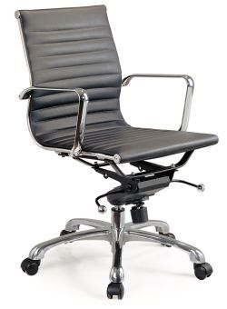 ✅ Comfy Low Back Black Office Chair | VivaSalotti.com | pic2