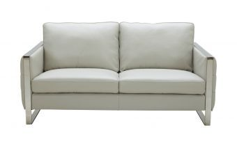 Constantin Love Seat in Light Grey