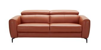Cooper Sofa in Pumpkin