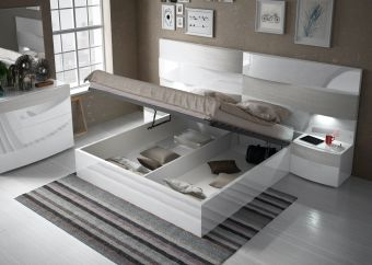✅ Cordoba King Size Bed with Storage by ESF   VivaSalotti.com   pic1
