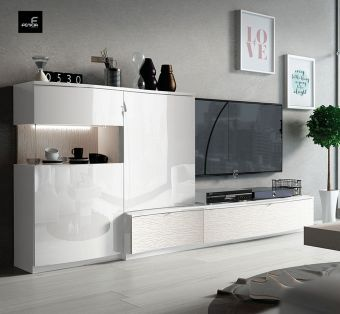 ✅ Cordoba TV Wall Unit by ESF | VivaSalotti.com | pic