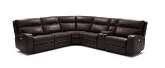 ✅ Cozy Motion Sectional In Chocolate | VivaSalotti.com | pic2