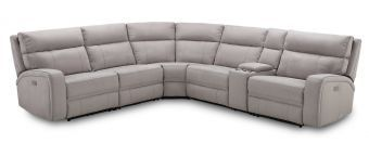 Cozy Motion Sectional In Moonshine