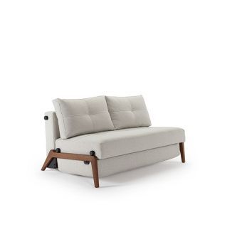 Cubed 02 Dark Wood Deluxe Full Sofa, 527 Mixed Dance Natural