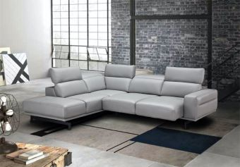 ✅ Davenport Light Grey Sectional in Left Facing | VivaSalotti.com | pic5