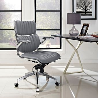 Escape Mid Back Office Chair (Gray)