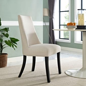Reverie Dining Side Chair (Beige)