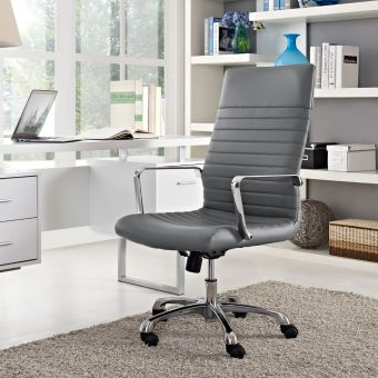 Finesse Highback Office Chair (Gray)