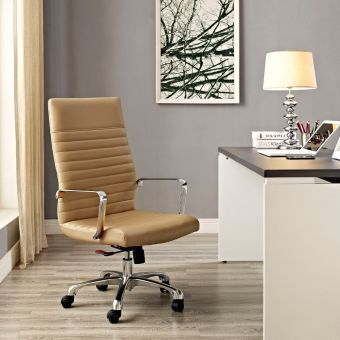 Finesse Highback Office Chair (Tan)