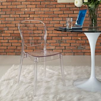 Entreat Dining Side Chair (Clear)