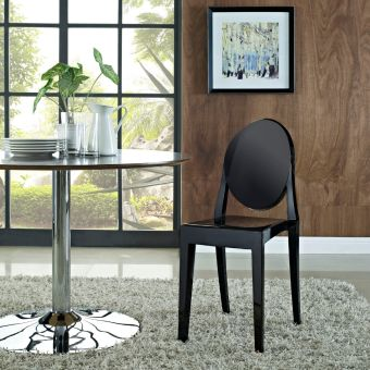 Casper Dining Side Chair (Black)