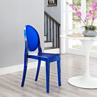 Casper Dining Side Chair (Blue)