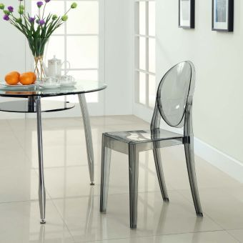 Casper Dining Side Chair (Smoke)