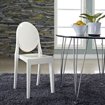 Casper Dining Side Chair (White)