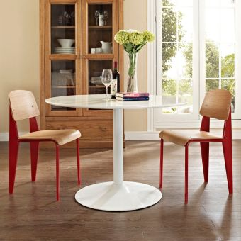 Cabin Dining Side Chair Set of 2 (Red)