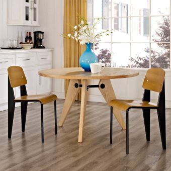 Cabin Dining Side Chair Set of 2 (Walnut)