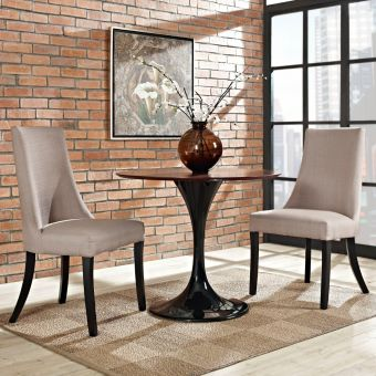 Reverie Dining Side Chair Set of 2 (Beige)