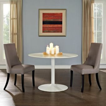 Reverie Dining Side Chair Set of 2 (Gray)