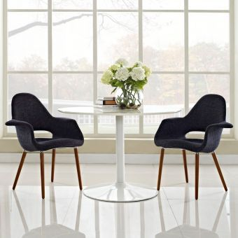 Aegis Dining Armchair Set of 2 (Black)